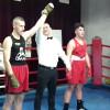 Pierwszy krok bokserski