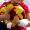 Szyją dla dzieci w szpitalach