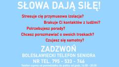 Bolesławiecki Telefon Seniora
