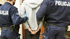 Rozbójnik w areszcie