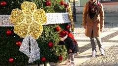 Świąteczne dekoracje w mieście