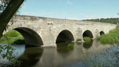 Zabytkowy most we Lwówku