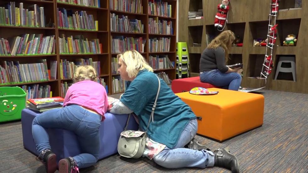 biblioteka zachęca do czytania