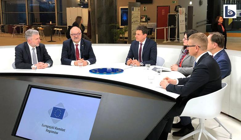 Marszałek Przybylski w Europejskim Komitecie Regionów