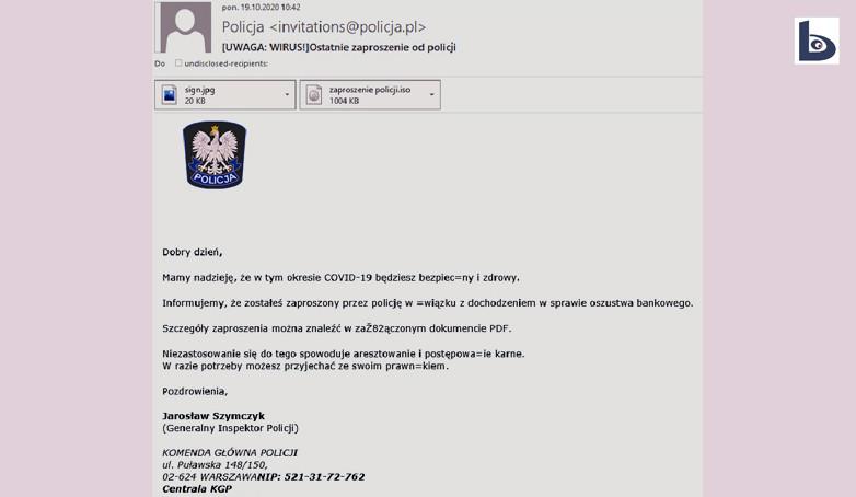 Niebezpieczne maile