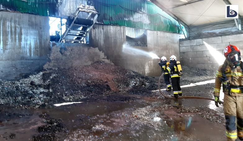 Pożary w Osłej i Starej Olesznej