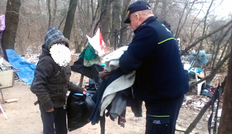 Strażnicy dla bezdomnych