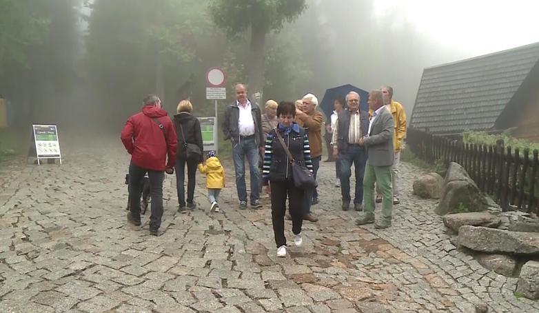 Turysta na szlaku